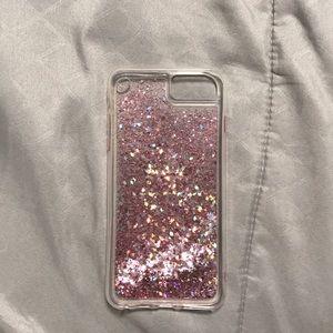 IPhone 7/8 Plus Flowing Glitter Case